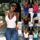 Sexy Casual Women T-Shirt Summer V-Neck Vest Top Sleeveless Tank Tops Blouse
