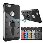 New Hybrid TPU&PC Dual-layer 360 Rotating Kickstand Rugged Case Cover for iPhone