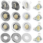 1-10x 230Volt Einbaustrahler Spot SMD LED 3,3 = 35W Halogen Downlight GU10 IP65