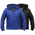 Mens Jacket Soul Star Coat Padded Hooded Bomber Lined Casual Winter New