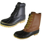 Climate X Mens SB31 Waterproof Leather Duck Boot Shoes