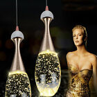 New Crystal Fixture Droplight Ceiling Light Restaurant Pendant Lamp Home Decor