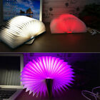 Creative 5 Colors LED Booklight Style Folding Lamp Decor USB Rechargeable Gift