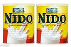 2x Nestle Nido Full Cream Milk Powder 400g