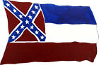 Mississippi State Flag Sticker Decal Quality Wildlife Nature Fishing Hunting HD