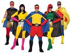 Adult Superhero Costume SHORTS Men Women Adult Teen Large Medium Hero Villain