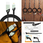 3.3FT ARAMID REINFORCED iPhone Charger Charging Cord MFi Cert LIGHTNING CABLE