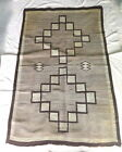 Vintage Navajo Indian Native American Handwoven rug 77 x 50 inches
