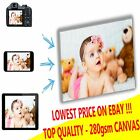 """LARGE YOUR PERSONAL PHOTO ON CANVAS 20 x 30"""" - DEEP 28MM FRAME ! PERFECT GIFT !"""