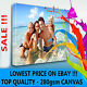 """YOUR PERSONAL PHOTO ON CANVAS 12"""" x 8"""" - DEEP 28MM FRAME ! TOP QUALITY ! SALE"""