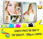 """YOUR PICTURE PERSONALISED ON TO CANVAS BOX 46"""" x 30"""" - 28MM FRAME TOP QUALITY !"""