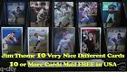 JIM THOME _ 10 Different Cards _ Choose 1 or More * 10 Mail FREE in USA