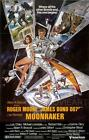 MOONRAKER BOND VINTAGE MOVIE POSTER FILM A4 A3 ART PRINT CINEMA £4.99 GBP on eBay