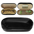 Evelots Glasses & Contacts Case, Travel Contact Lens Hard Case, Assorted Colors