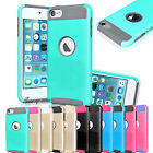 Shockproof Hybrid Rugged Rubber Impact Hard Case for Apple iPod Touch 5th 6th