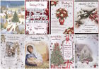Thinking of You A Caring Message Christmas Card - Lovely Verse - Various Designs