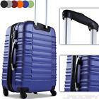 Trolley Hard Shell Suitcase Light Luggage Cabin Bag ABS Wheeled Choice of Colour