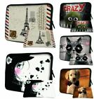 """LUXBURG 8""""-17.6"""" Inch Laptop Notebook Sleeve Soft Case Bag Cover + Free Mousepad"""