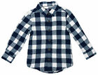 Boys Chainstore Baby Toddler Long Sleeve Checked Shirt Navy 9 to 36 Months