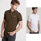 Mens Weekend Offender Designer Short Sleeve Pique Polo Shirt Collared Classic T