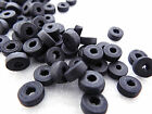 3x8mm 150/200/500/1000pcs BLACK WOOD BEADS W05360