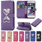 Quicksand Flip Leather Wallet Credit Cards Stand Case Cover For iPhone 6 6S Plus