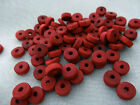 3x8mm 150/200/ 300/500/1000pcs RED WOOD BEADS W00106