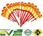 CK Tools Dextro VDE Screwdrivers Complete Range Phillips, Pozi, Slotted, Modulo
