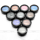 1 pc 1880 Double Layer Round Solid Eyeshadow Assorted Colors 01#-10# With Brush