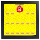 Lego Minifigures Display Case Picture Frame for Series 16 mini figures