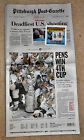 2016 PITTSBURGH PENGUINS Post-Gazette Entire Newspaper PENS WIN 4TH CUP Stanley