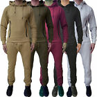Mens ENTT Full Tracksuit Hooded Top & Skinny Slim Joggers Jogging Bottoms Fleece