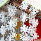 Wholesale 30Pcs/10pack White Snowflake Christmas Decortions For Home Christmas