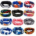 Fishing Face Mask Buff Sun and Wind Protection UV Sun Safe Assorted Patterns NEW