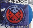 LIFE OF AGONY RIVER RUNS RED DOUBLE BLUE VINYL LP 497/500