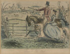 Pair of 19th Century Lithographs - Hunting Scenes after John Leech