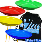 Set of 3 Jac Products Spinning Plates & Sticks - Circus Kids Skill Toy & Bag