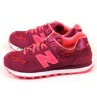 New Balance WL574NLB B Red & Pink & White Classic Retro Lifestyle Shoes 2016 NB