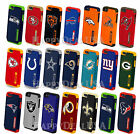 Official NFL Dual Layer Shock Proof Hybrid Cover Case for Apple iPhone 5 5S SE $19.99 USD on eBay