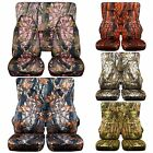CC Front +Rear car seat covers camouflage fits wrangler YJ /TJ /LJ,choose color