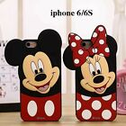 Lovely Cartoon Disney Mickey Minnie Mouse anti-shock Case for iPhone7/7 plus/6