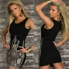 Retro Embroidery Tunic Summer Beach Women's Bodycon Slim Fit Tank Dress Sundress