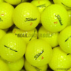 TITLEIST DT SOLO 2012 YELLOW - PEARL / A GRADE - PREMIUM OPTIC LAKEBALLS