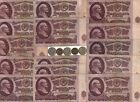 COLD WAR Russian Money Rare Old Vlad Rubles Collection Invest Coin Note 20 Lot