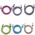 Strong Braided Long USB Data Charger Cable Lead For iPhone 7 6 5 5S 6S Plus 1-3M