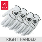 Callaway Men's Cabretta Leather Golf Glove 4-pack for the RIGHT HANDED GOLFER