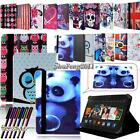 kindle usa - FOLIO LEATHER STAND CASE COVER For Amazon Kindle Fire 7 inch Tablet + STYLUS