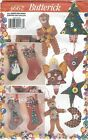 Butterick 4662 Button Stockings and Ornaments   Sewing Pattern