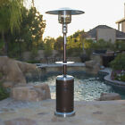 Garden Outdoor Patio Heater w/ Table Propane Standing lpg reguator 48,000BTU