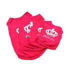 Pet Vest Puppy Summer Clothes Dog Cat T Shirt Princess Outfit Apparel Costume
